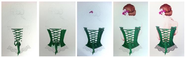 corset step step